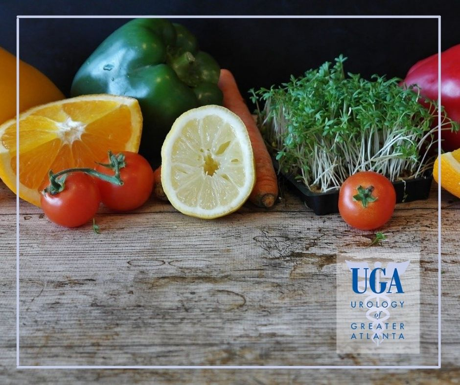 Vegetables and fruits full of nutrition for kidney health - Urology Of Greater Atlanta
